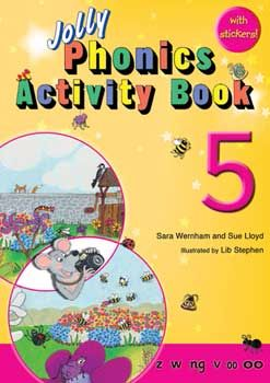 Jolly Phonics Activity Book 5 - Each