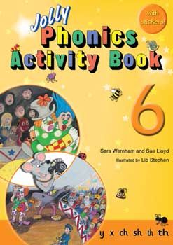 Jolly Phonics Activity Book 6 - Each