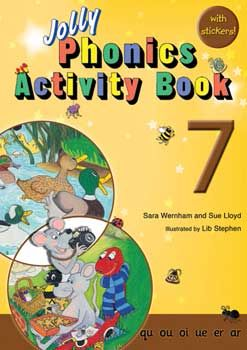 Jolly Phonics Activity Book 7 - Each