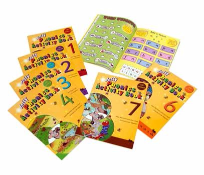 Jolly Phonics Activity Books 1- 7 - Assorted - Pack of 7