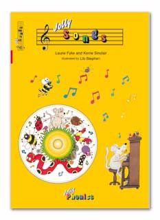 Jolly Songs Book & C.D - Each
