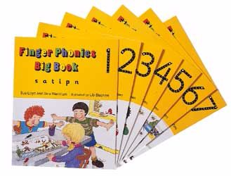 Finger Phonics Big Books - Assorted - Pack of 7