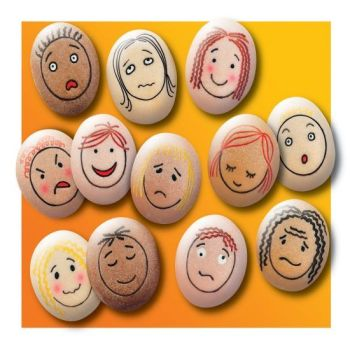 Emotion Stones - Assorted - Tub of 12