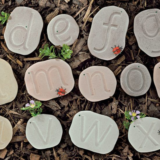 Feels Write Lowercase Stones - Assorted - Pack of 26