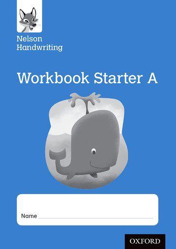 Nelson Handwriting Starter Level A Workbook - Pack of 10
