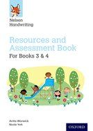 Nelson Handwriting Resourse & Assessment Book - Book for Years 3 & 4 - Each