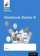 Nelson Spelling Reception Starter Level B Workbook - Pack of 10
