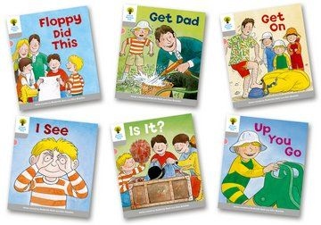 Biff, Chip and Kipper Stories Level 1 - More First Words - Assorted - Pack of 6
