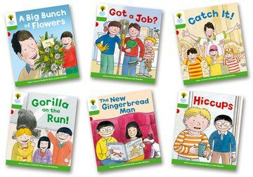 Biff, Chip and Kipper Stories Level 2 - Decode and Develop - More Stories A - Assorted - Pack of 6