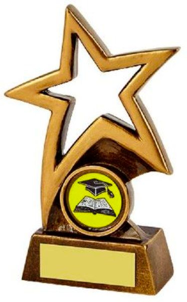 Star Award Trophy - 12.5cm - Each