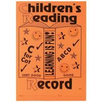 Children's Reading Record Books - 21 x 15cm - Pack of 25