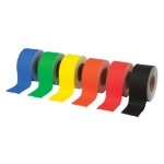 Poster Paper Border Rolls - Bright - Educraft Straight Edge - 48mm x 50m - Assorted - Pack of 6