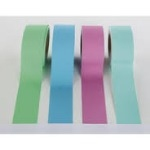 Poster Paper Border Rolls - Pastel - Educraft Straight Edge - 48mm x 50m - Assorted - Pack of 4