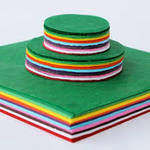 Tissue Paper 10cm Circles - Assorted - Pack of 480