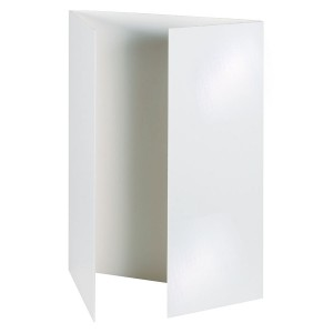 Presentation Boards - White - Pack of 4