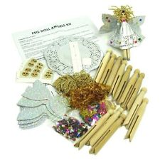 Dolly Peg Fairy Kit - Pack of 10