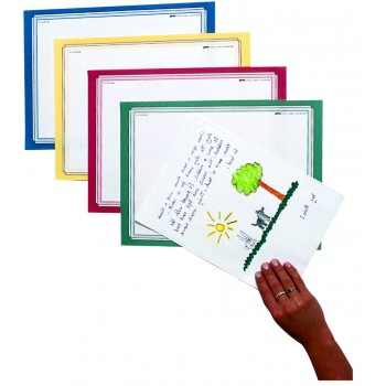 A4+ School House Colours Mounting Paper - Assorted - Pack of 100