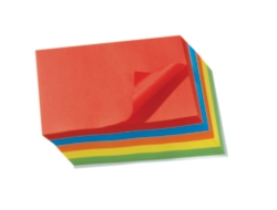 A4 Bright Paper - 80gsm - Assorted - Pack of 500