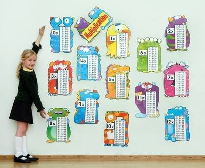 Multiplication Monsters Classroom Display Pack - Assorted - Pack of 13