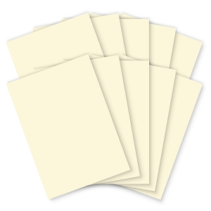 Pastel Cream Card - 210 x 297mm - 200mic - Pack of 100