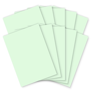 Pastel Green Card - 210 x 297mm - 200mic - Pack of 100
