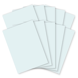 Pastel Blue Card - 210 x 297mm - 200mic - Pack of 100