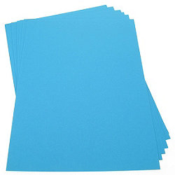 Bright Blue Card - A4 - 200mic - Pack of 100
