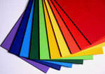 Bright Assorted Card - A4 - 230microns - Pack of 100