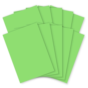 Bright Green Card - A4 - 200mic - Pack of 100