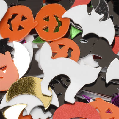 Halloween Sequins - Assorted - 50g