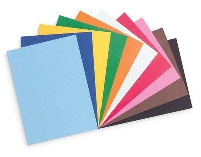 Activity Paper - Assorted - 22 x 30cm - Pack of 200