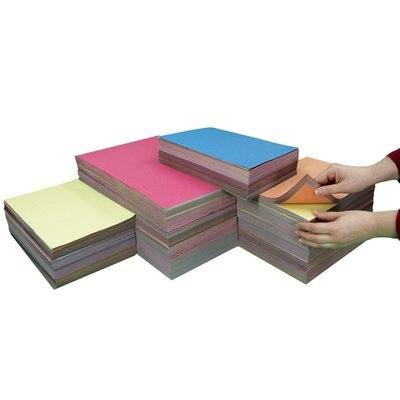 Crafty Box 1 - Assorted Sized Sugar Paper - Classroom Pack
