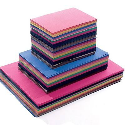 Crafty Box 3 - Assorted Sized Sugar Paper - Classroom Pack