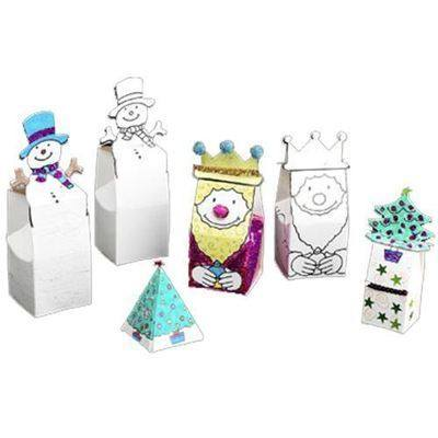 Christmas Gift Boxes - Assorted - Pack of 24