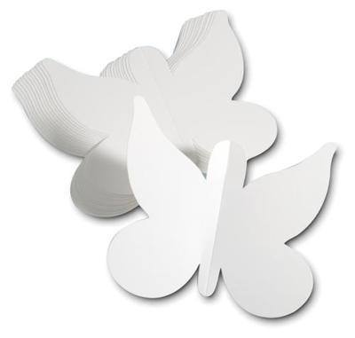 Card Butterflies - Pack of 25