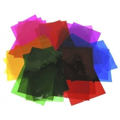 A4 Cellophane Sheets - Assorted - Pack of 48