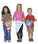 Bunting Flags - Pack of 32