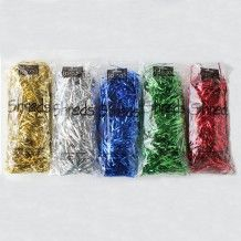 Metallic Foil Shreds - Assorted - Pack of 5