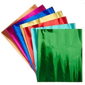 Metallic Foils Paper Sheets - 30 x 45cm - Pack of 24