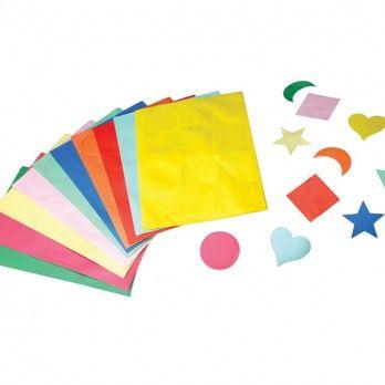 Gummed Shapes - Assorted - Pack of 300