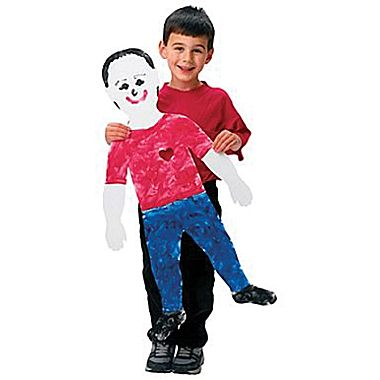 Child Size Paper People - 88 x 50cm - Pack of 24