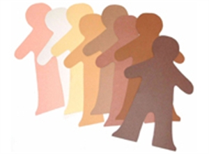 Multicultural Cut-outs - People - 27cm Tall