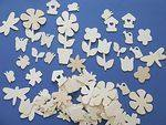Wooden Garden Shapes - Assorted - Pack of 75