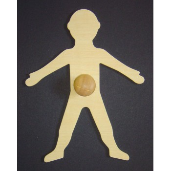 My Body Wooden Templates - Each