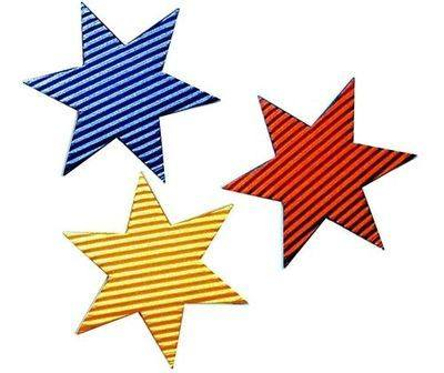 Corrugated Stars - Pack of 50