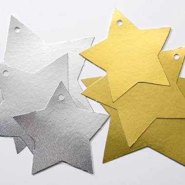 Metallic Stars - Assorted - Pack of 50
