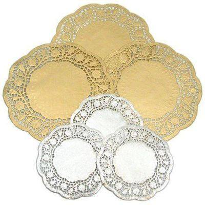 Doilies - Metallic - Pack of 40