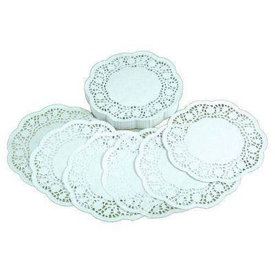 Doilies - White - 16cm - Pack of 250