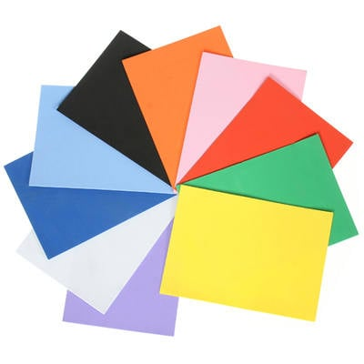 Foam Sheets - A4 - Assorted - Pack of 10