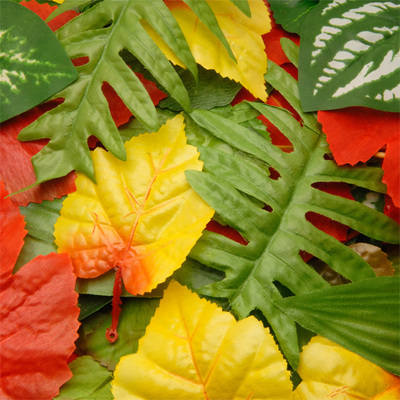 Fabric Leaves - Assorted - Pack of 100